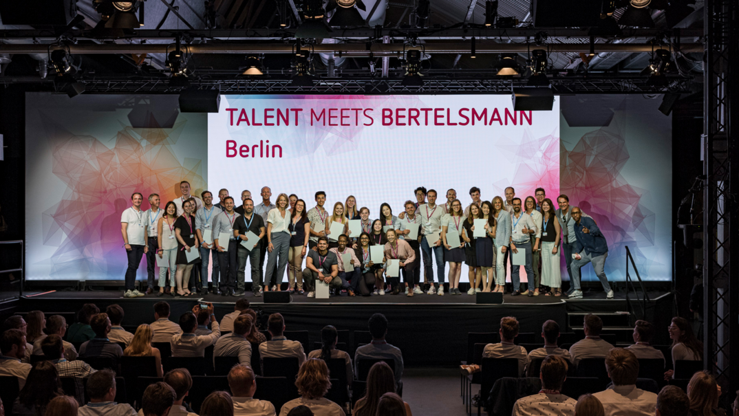 Talent Meets Bertelsmann 2020 (fully-funded trip to Berlin)
